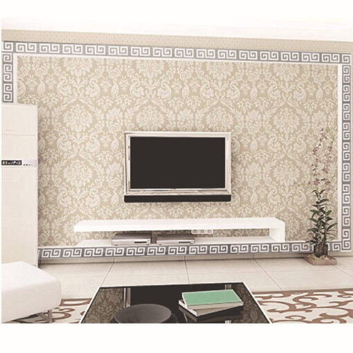 10pcs lot Geometric Waist 3D Mirror Wall Sticker For Ceiling Living Room Bedroom Acrylic Mural Wall 1.jpg 640x640 1