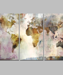 3Panel Watercolor World Map Painting HD Print on Canvas Landscape Modular Wall Painting Sofa Cuadros Art 3.jpg 640x640 3