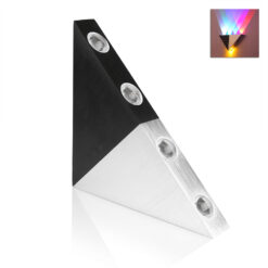 5W Aluminum Triangle Led Wall Lamp AC90 265V High Power Led Modern Home Lighting Indoor Outdoor 1