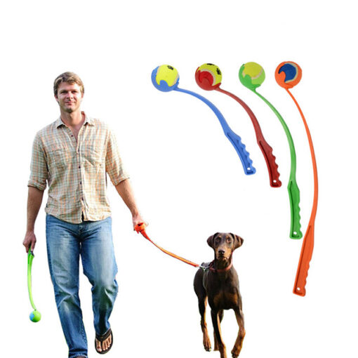 Amazon Hot Dog Toy Launchers Tennis Ball Toy Long Plastic Handle Throw Dog Playing Ball 2 1.jpg 640x640 1