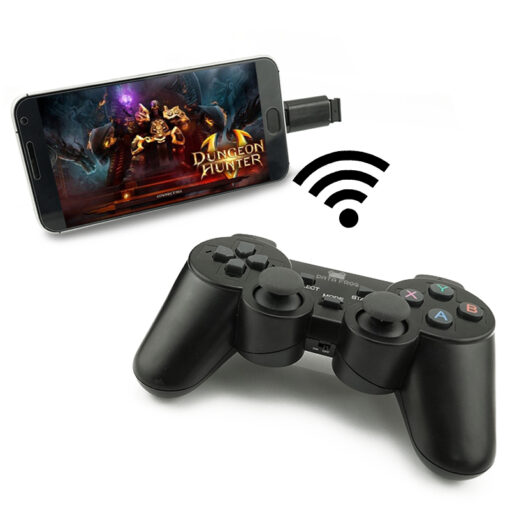Android Wireless Gamepad For Android Phone PC PS3 TV Box Joystick 2 4G Joypad Game Controller 1