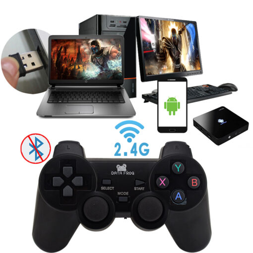 Android Wireless Gamepad For Android Phone PC PS3 TV Box Joystick 2 4G Joypad Game Controller 2