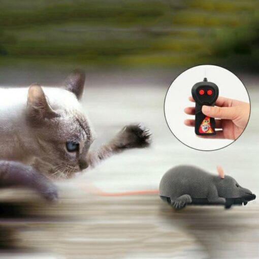 Cat Toy Wireless Remote Control Mouse Electronic RC Mice Toy Pets Cat Toy Mouse For kids 2