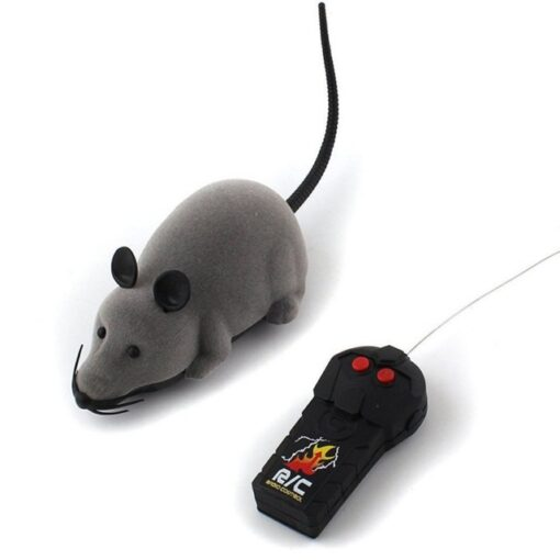 Cat Toy Wireless Remote Control Mouse Electronic RC Mice Toy Pets Cat Toy Mouse For