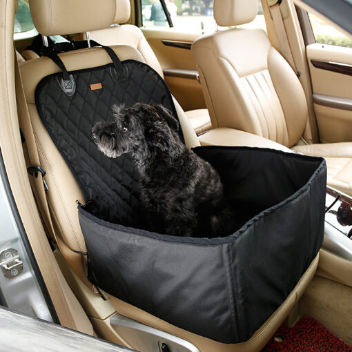 Doglemi 900D Nylon Waterproof Dog Bag Pet Car carrier Dog Car Booster Seat Cover Carrying Bags 2