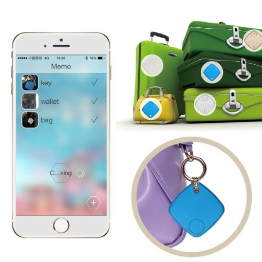 New Smart Tag Wireless Bluetooth Tracker Child Bag Wallet pet Key Finder GPS Locator 2 Color 2