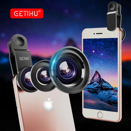 Universal Wide Angle Zoom Macro Lenses Mobile Phone Lens Fisheye Camera Fish eye For iPhone 6