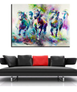 xh181 Big Triptych Watercolor Deer Head Posters Print Abstract Animal Picture Canvas Painting No Frames Living 8.jpg 640x640 8