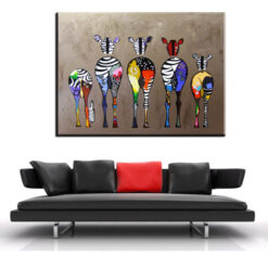 xh181 Big Triptych Watercolor Deer Head Posters Print Abstract Animal Picture Canvas Painting No Frames Living 9.jpg 640x640 9